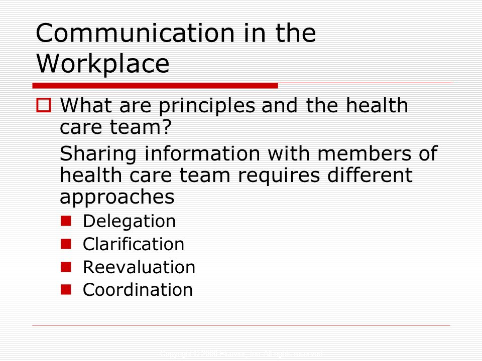 effective communication among health care team Focusing on a high level of collaboration among teams at your facility is critical for the success of your patients during their stay  sharing the care of an individual patient will help give them a 360-degree approach to their treatment and overall health care experience-communication: effective communication is needed to facilitate.