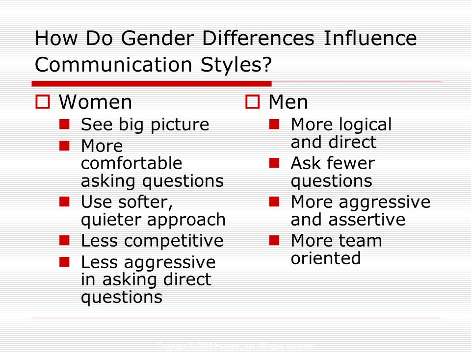 How Do Gender Differences Influence Communication Styles