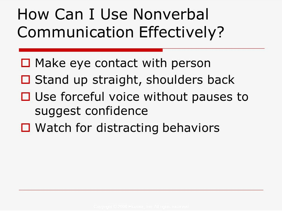 How Can I Use Nonverbal Communication Effectively