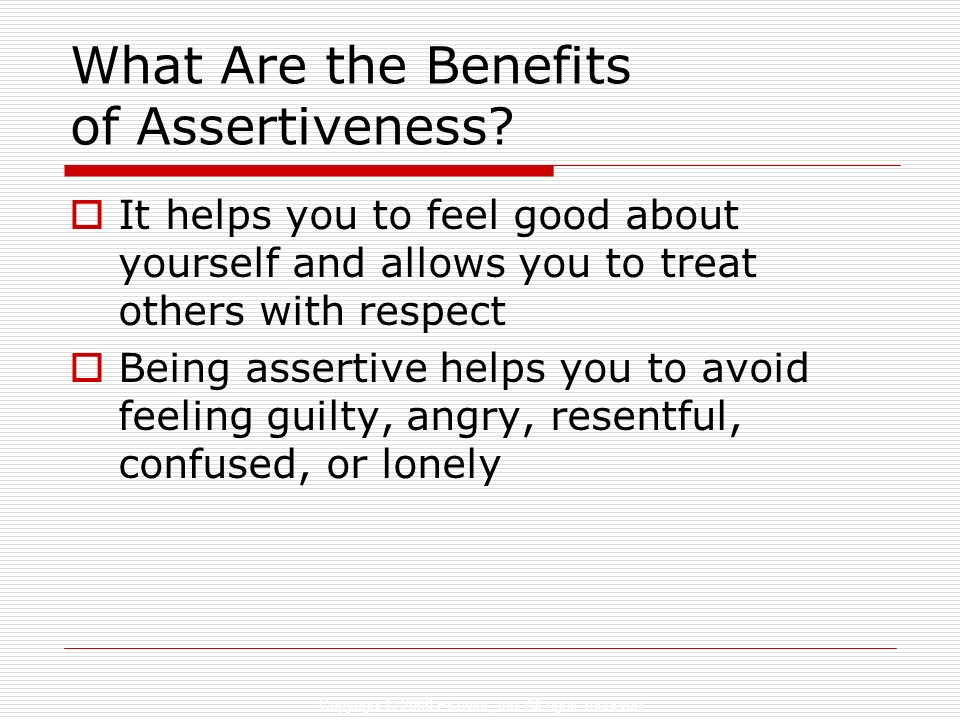 What Are the Benefits of Assertiveness