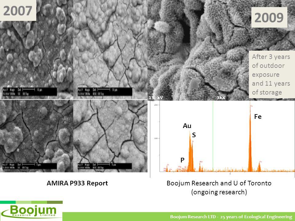 Figure 8 - (A) A2 SEM/EDS 2009 (rock 2); (B) A3 SEM/EDS 2004 10