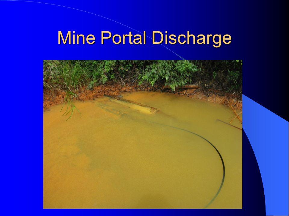 Mine Portal Discharge