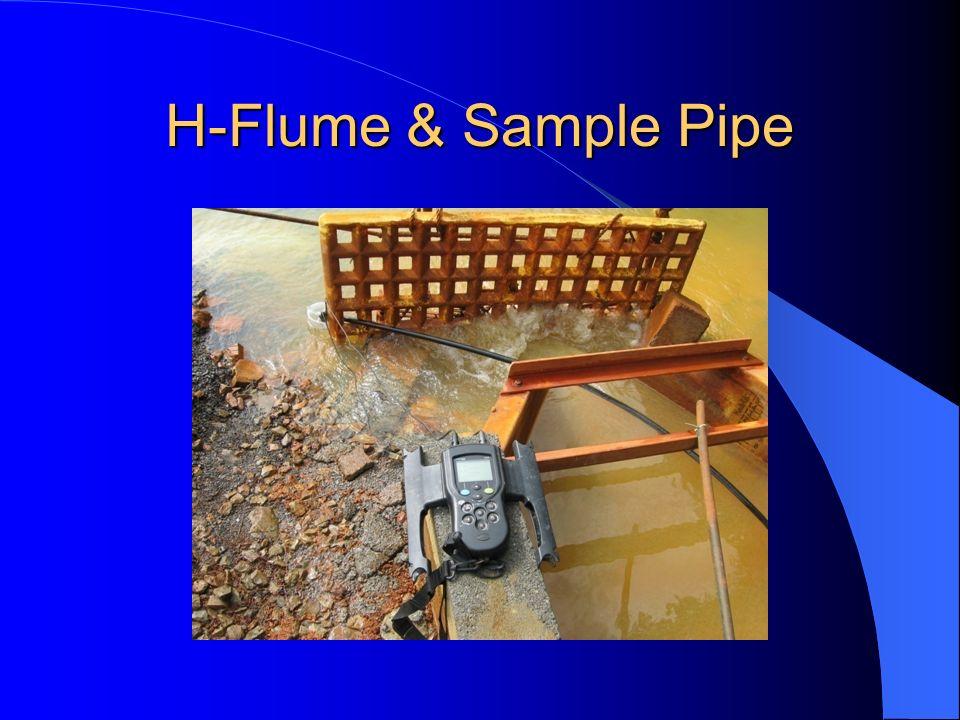 H-Flume & Sample Pipe