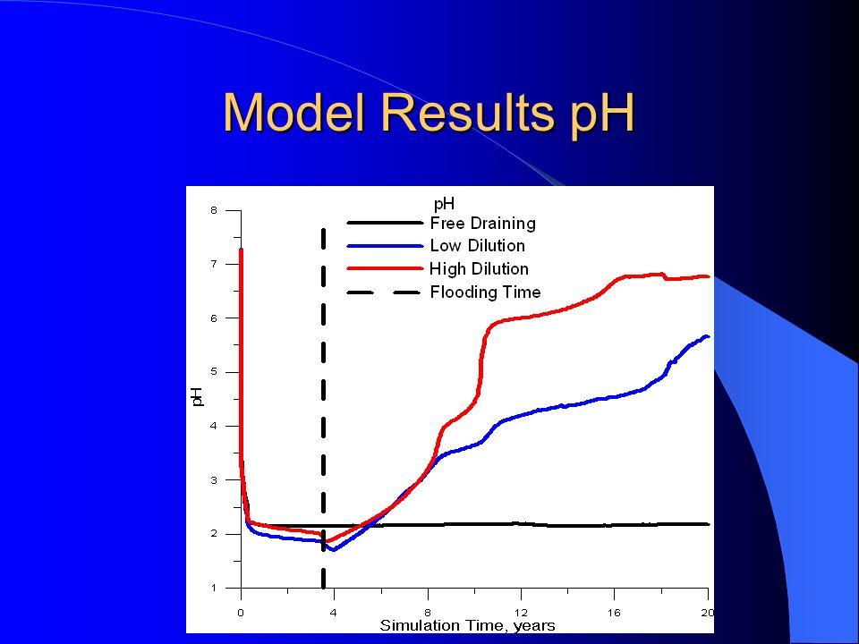 Model Results pH