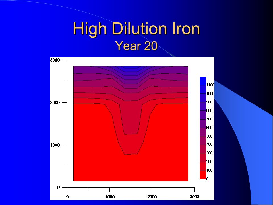 High Dilution Iron Year 20
