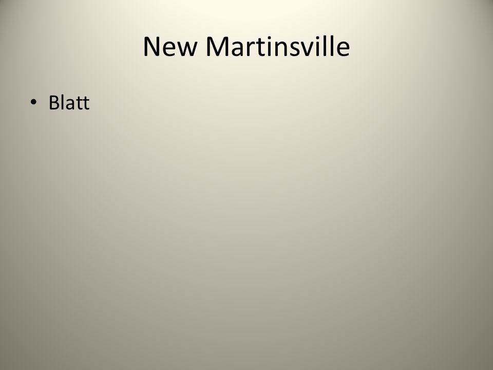 New Martinsville Blatt