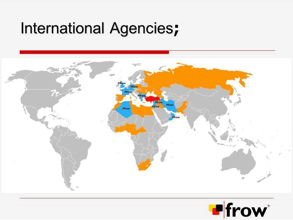 International Agencies;