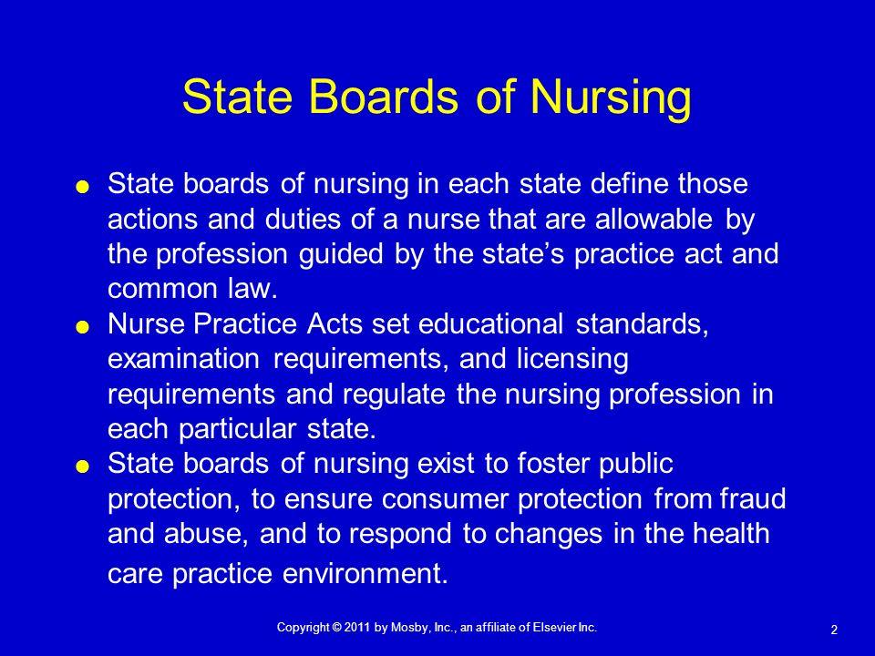 State Boards of Nursing