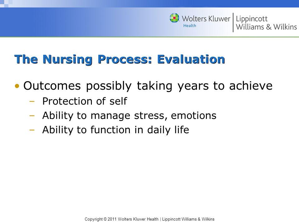 The Nursing Process: Evaluation