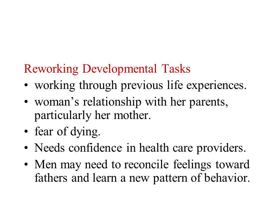 Reworking Developmental Tasks