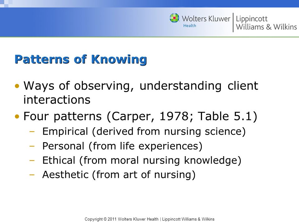 Ways of observing, understanding client interactions
