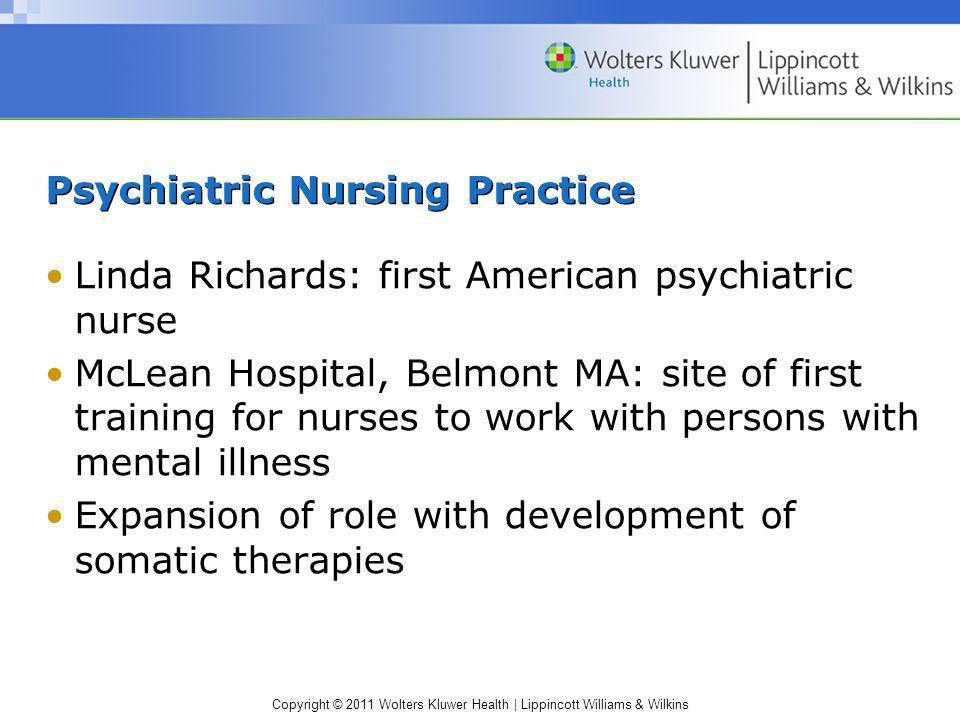 Psychiatric Nursing Practice