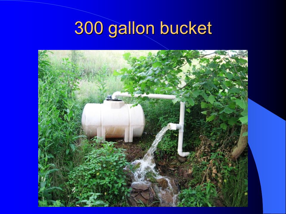 300 gallon bucket