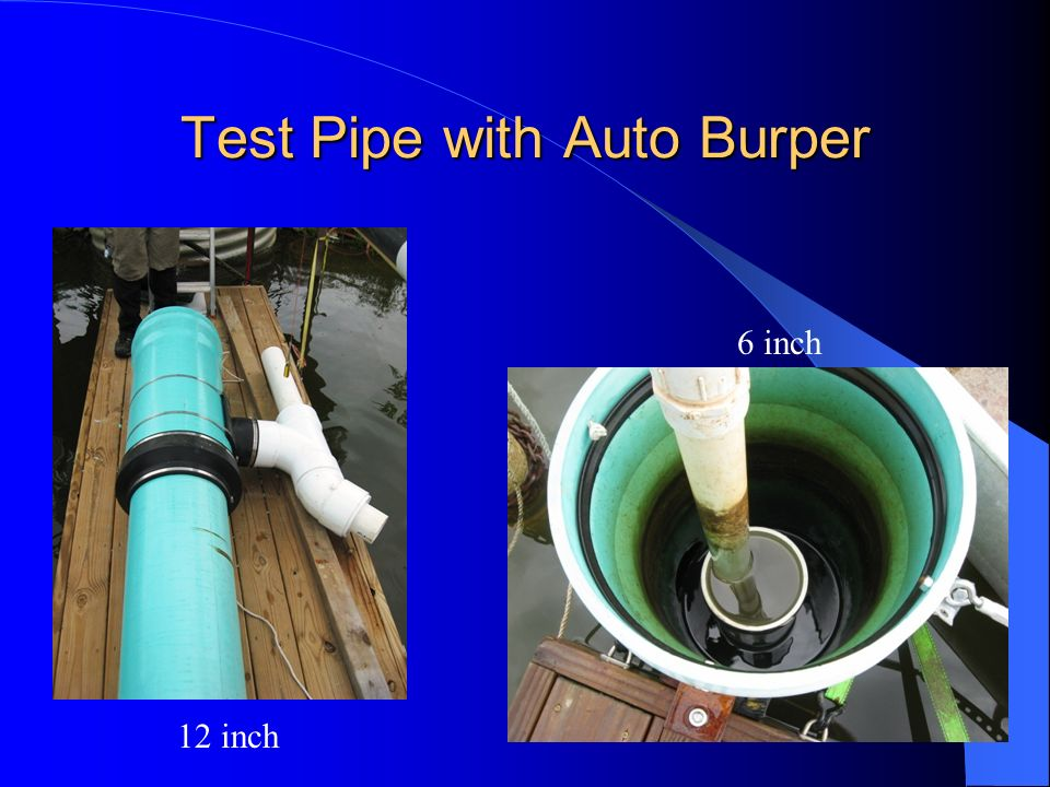 Test Pipe with Auto Burper