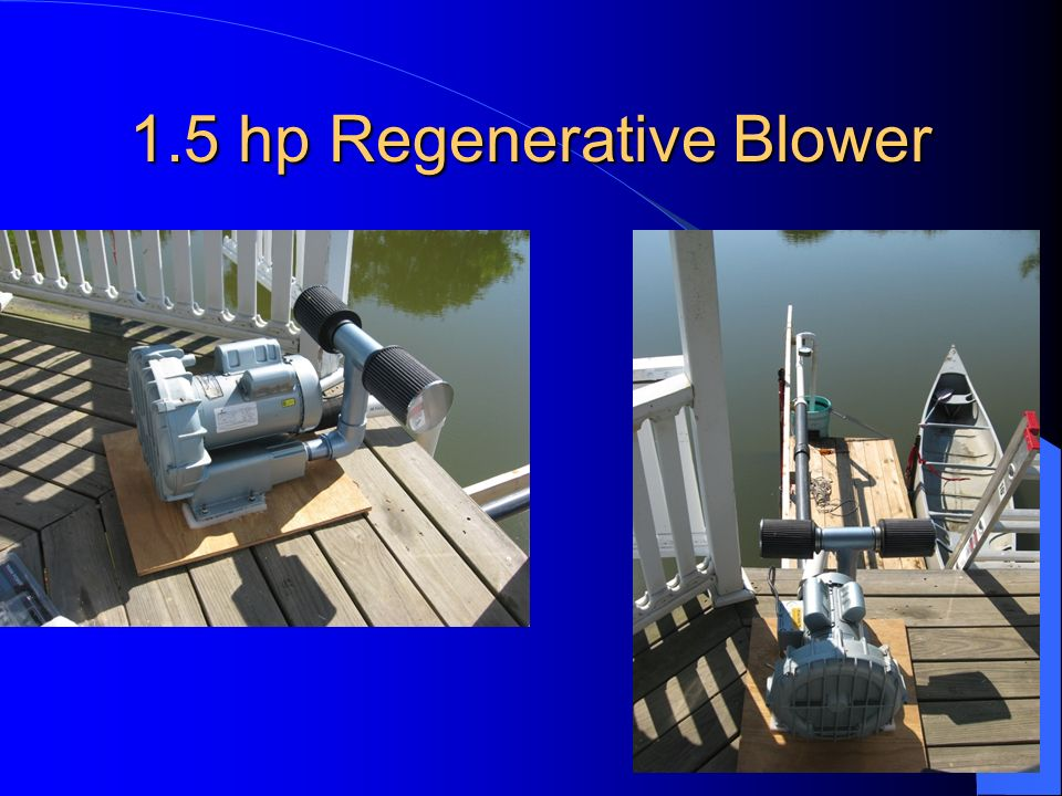 1.5 hp Regenerative Blower