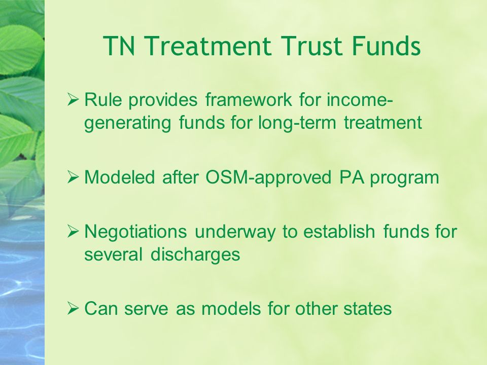 TN Treatment Trust Funds