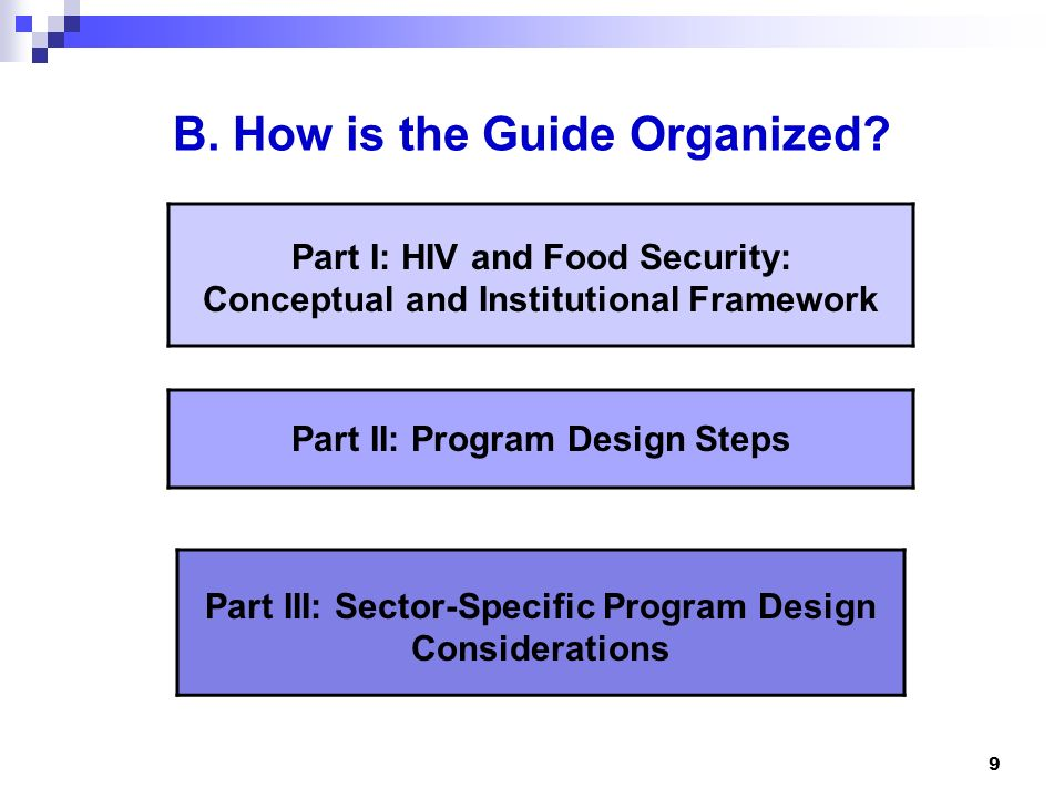 B. How is the Guide Organized