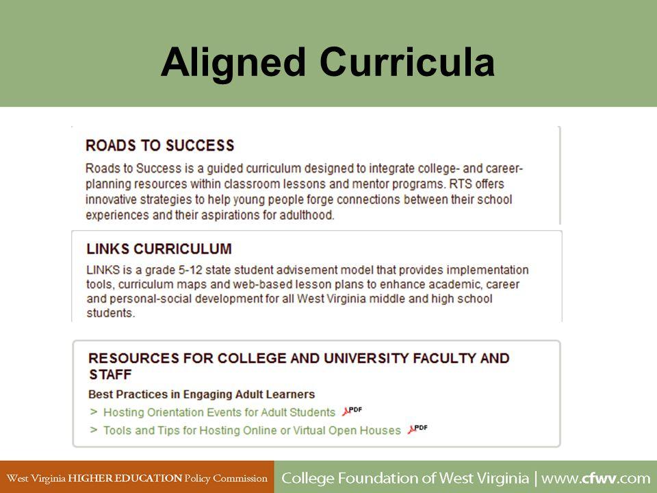 Aligned Curricula