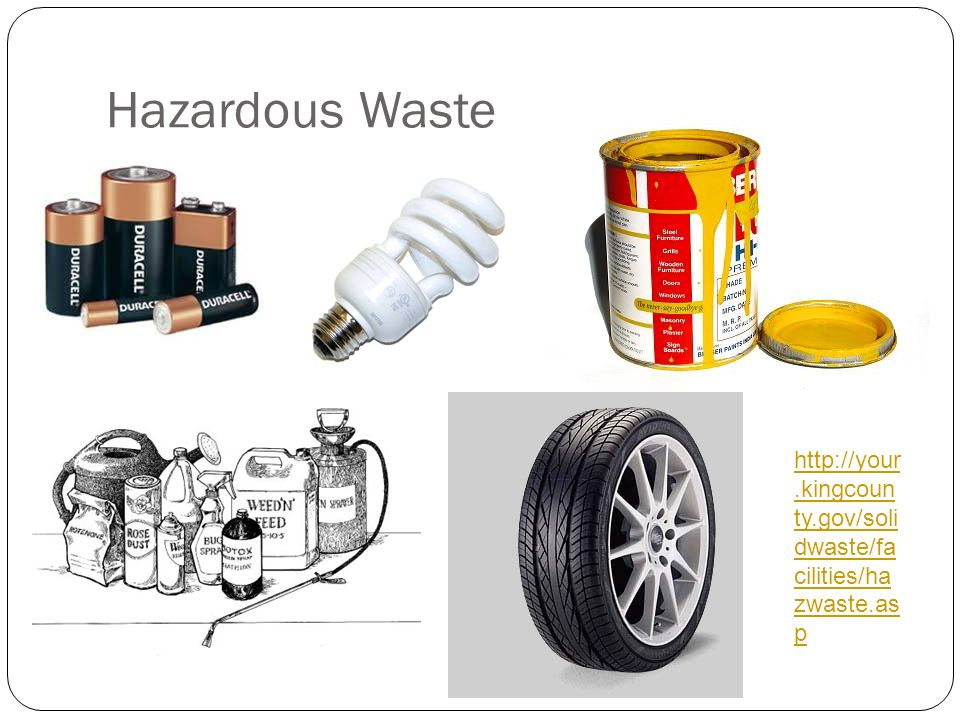 Hazardous Waste http://your.kingcounty.gov/solidwaste/facilities/hazwaste.asp