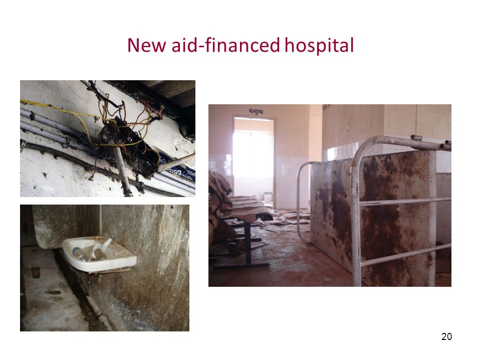 New aid-financed hospital