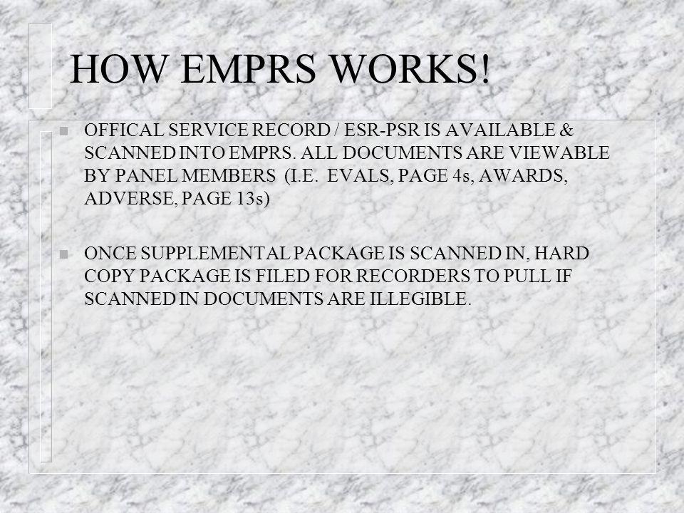 HOW EMPRS WORKS!