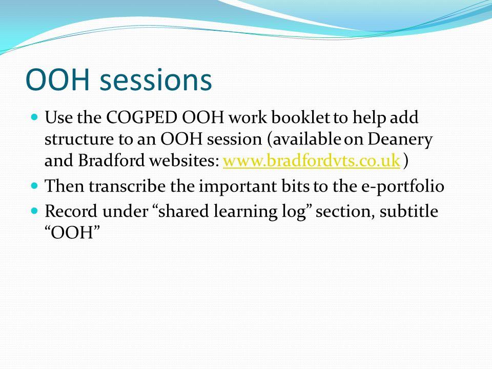 OOH sessions