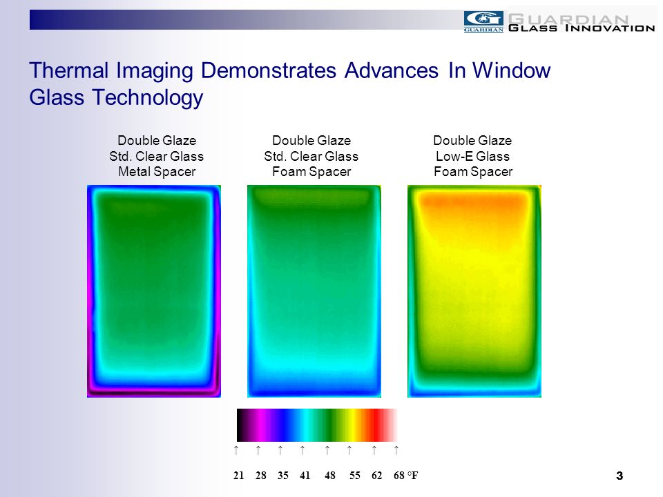 Thermal Imaging Demonstrates Advances In Window Glass Technology