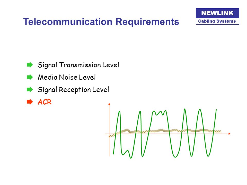 Telecommunication Requirements