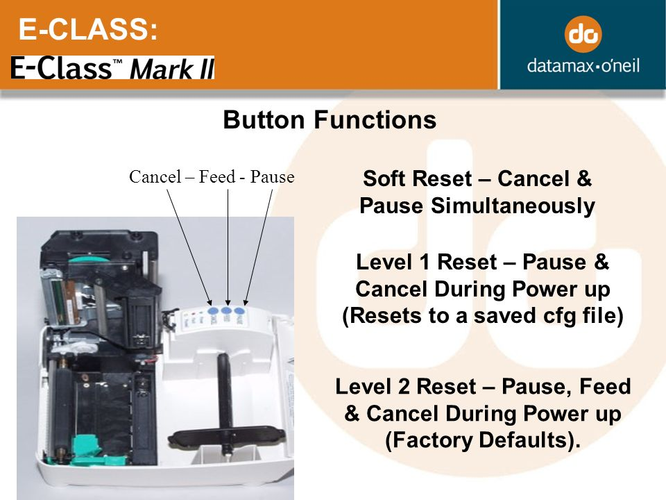 Soft Reset – Cancel & Pause Simultaneously