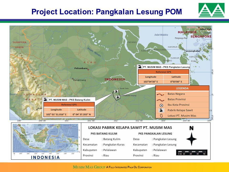 Project Location: Pangkalan Lesung POM