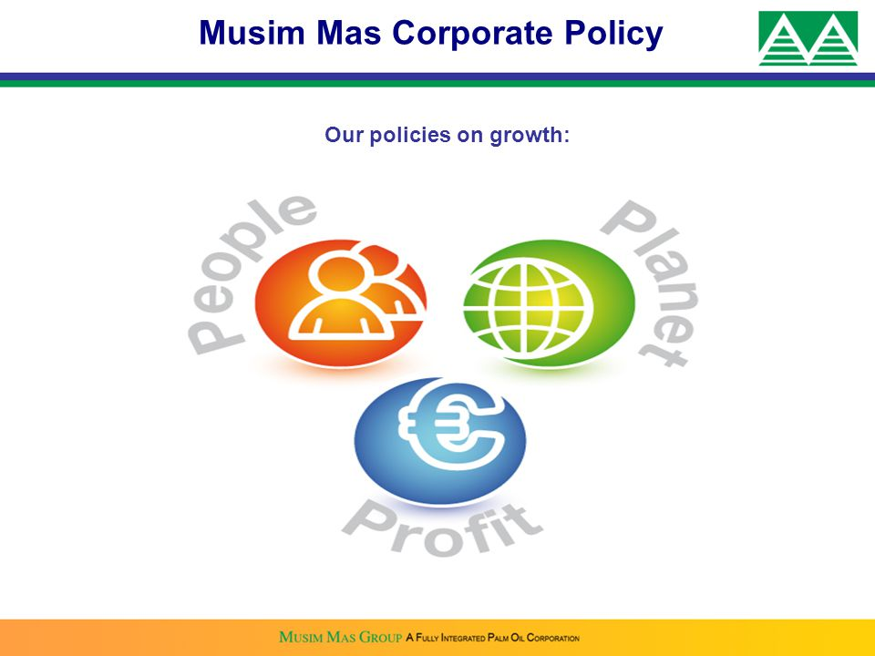 Our policies on growth: