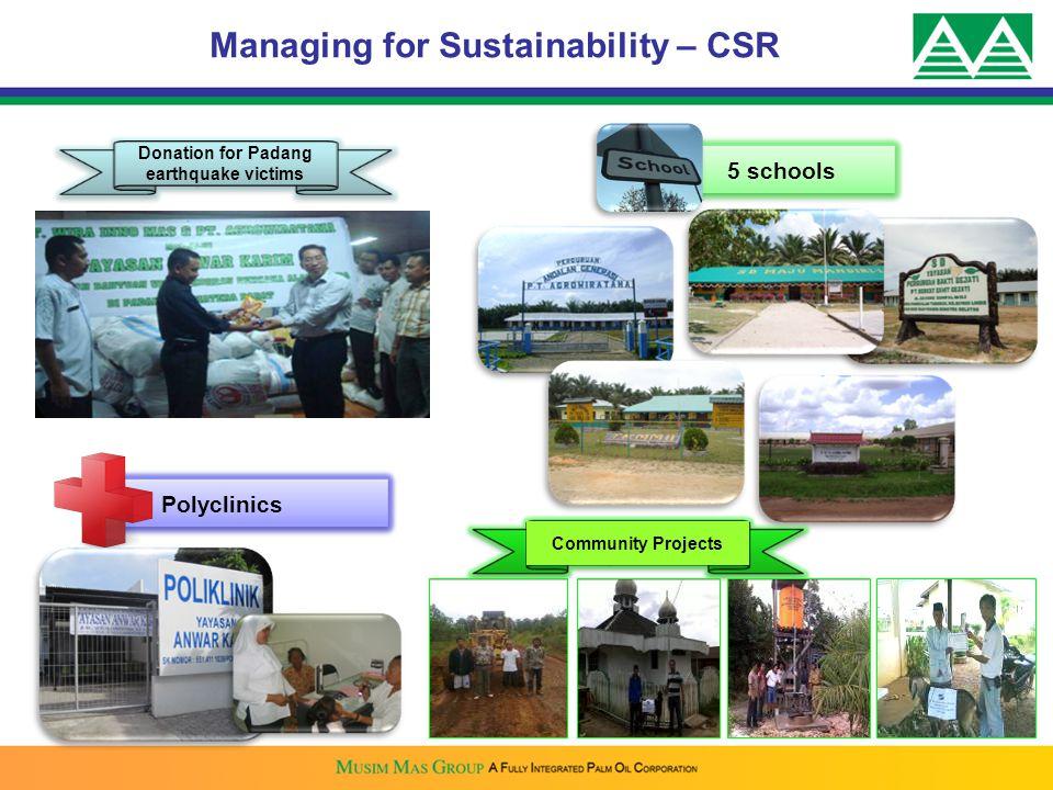 Managing for Sustainability – CSR