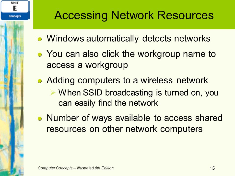 Accessing Network Resources