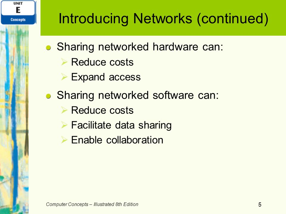 Introducing Networks (continued)