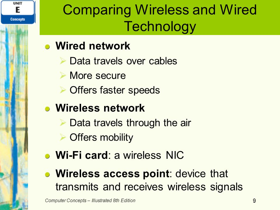 Comparing Wireless and Wired Technology