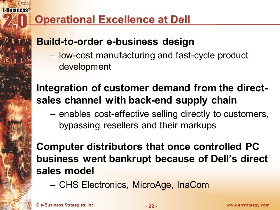 Operational Excellence at Dell