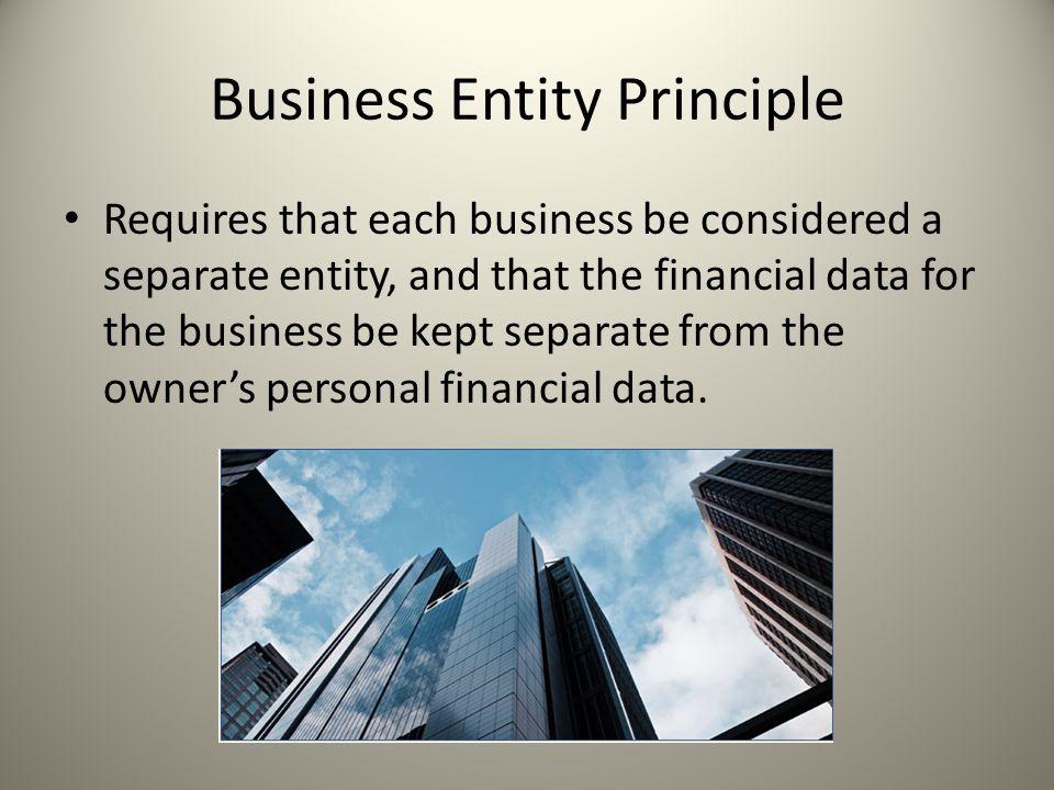 Business Entity Principle