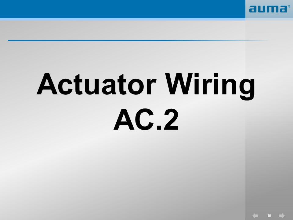 Actuator Wiring AC.2