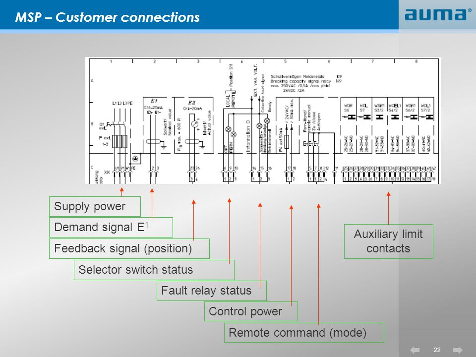MSP – Customer connections