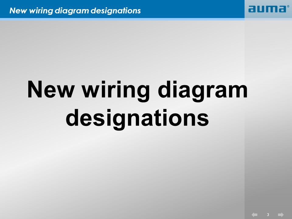 New wiring diagram designations