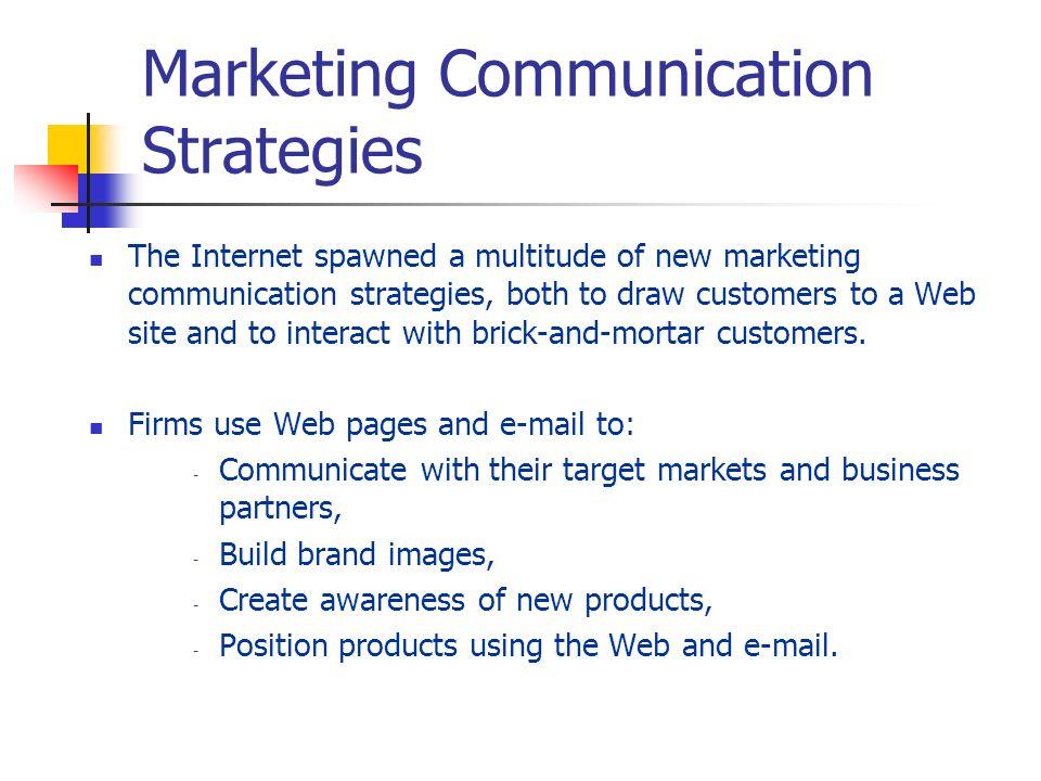 Marketing Communication Strategies