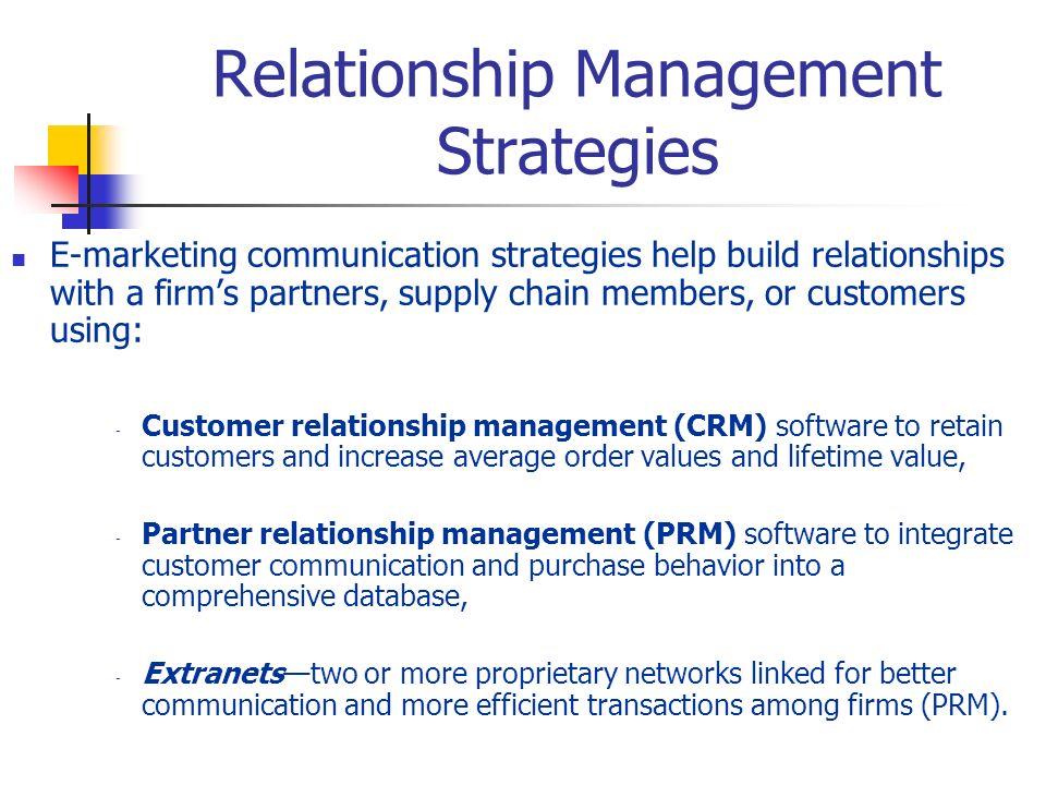 Relationship Management Strategies