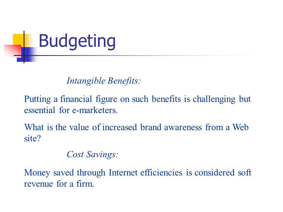 Budgeting Intangible Benefits: