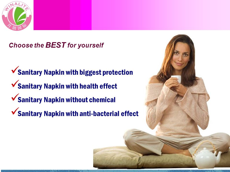 Sanitary Napkin with biggest protection