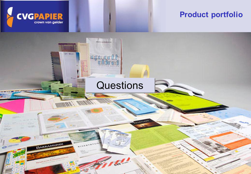 Product portfolio Questions