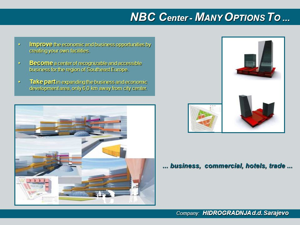 NBC Center - MANY OPTIONS TO ...