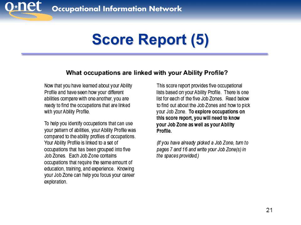 Score Report (5)