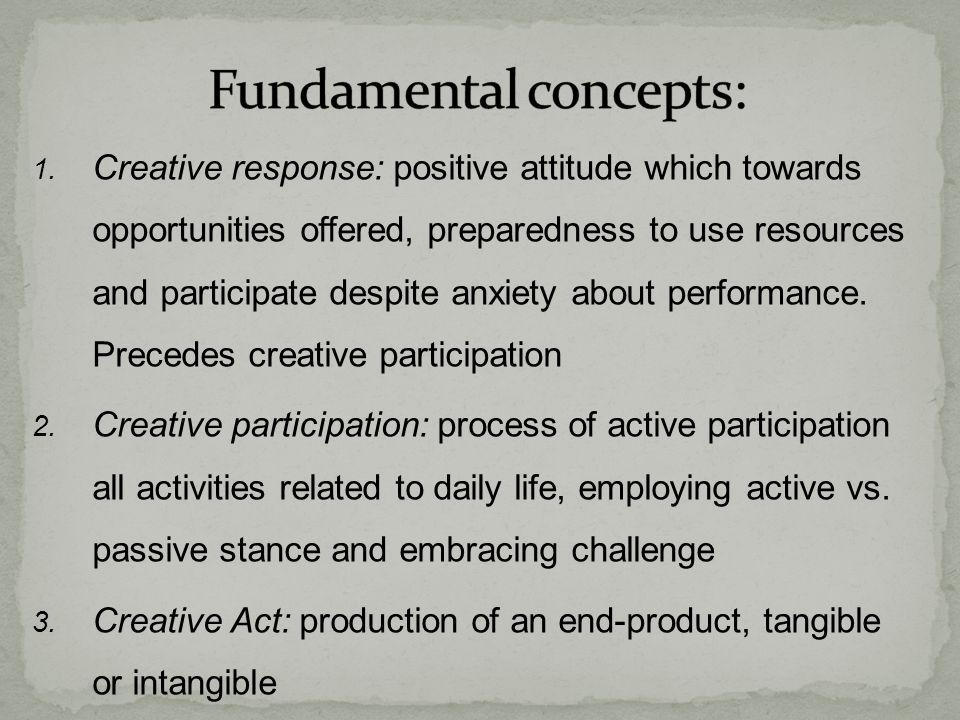 Fundamental concepts: