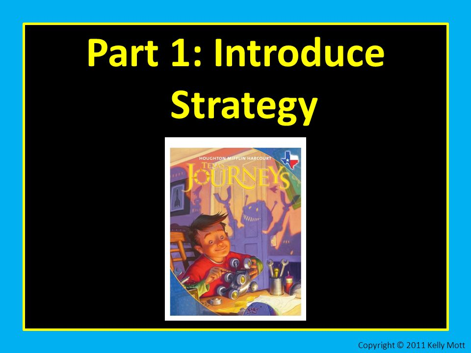 Part 1: Introduce Strategy