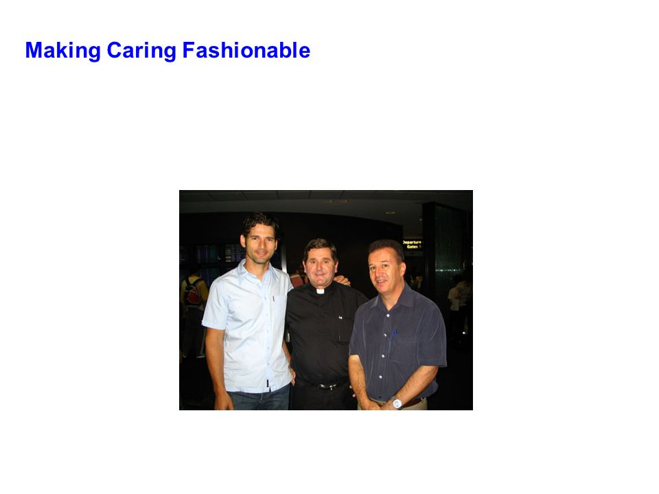Making Caring Fashionable